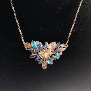 🆕 Stunning Chloe+Isabel Goldtone Gem Necklace